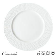 "Embossed High Luxury Hotel 10.5"" Dinner Plate"