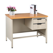Metal Office Computer Desk With File Drawer