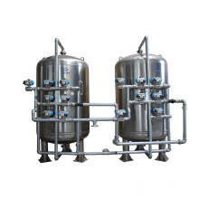 Filtro de agua de arena de presión de planta de tratamiento de agua