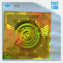 3D Waterproof Holographic Sticker