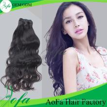 Unprocessed Natural Wave Brazilian Virgin Hair Human Hair Extension