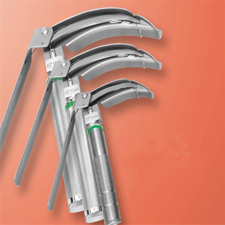 Flexible tip fiber optic laryngoscope