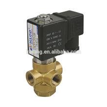 Electroválvula para compresor / Válvula solenoide de China / KL0311 Válvula solenoide de latón de 4/2 vías