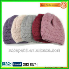 high design plain knitted beanie hats in china BN-2011
