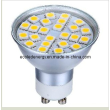 Luz LED GU10 3W con CE y Rhos