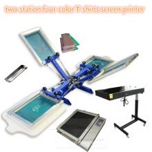 ТМ-субархитектуры r4k 2 станции 4 цветной текстильной экран печатная машина