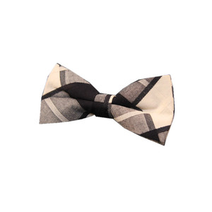 high quality OEM custom cotton plaid bowtie