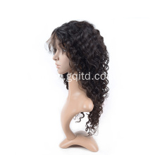 Real human hair lace front wigs women for sale