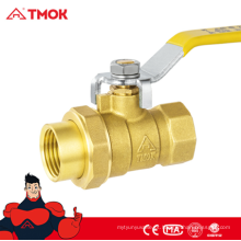 Válvula de esfera de bronze da união 1/2 polegadas com punho longo e vantagens competitivas em TMOK