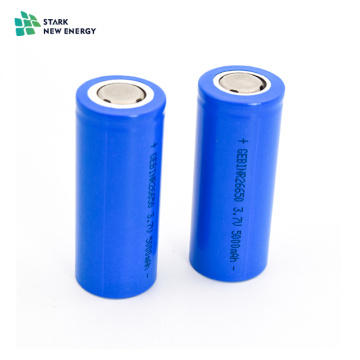 26650 cyliner 3.2V3000mAh cellule de batterie au lithium-ion