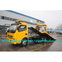 2015 EuroIII или EuroIV Заводская цена Dongfeng DLK 4-тонный эвакуатор, 4x2 эвакуатор