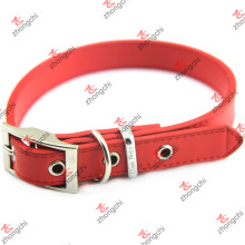 Cuir en cuir rouge Collier Décoration en cuir de conception en cuir (PC15121402)
