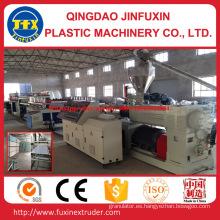 Máquina del extrusor de la placa de la espuma de la corteza de la construcción del PVC