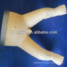 Infusion intra-osseuse ISO et simulateur de formation de perforation de moelle osseuse infantile