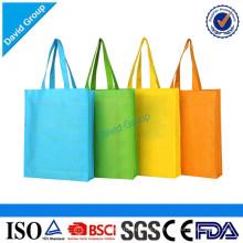 Bolso de compras plegable de nylon plegable y manejado personalizado al por mayor promocional del estilo
