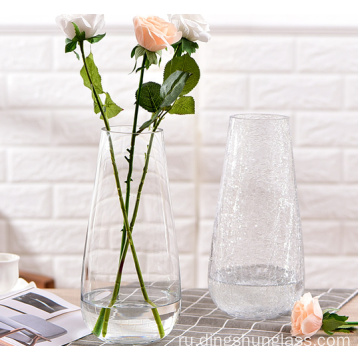 Creative+display+of+glass+vases