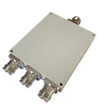550-4000MHz IP65 3 Way 4.3-10 Mini DIN Wilkinson Power Divider