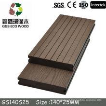 2014 Plataforma de plástico de madera de venta CALIENTE! / Suelo compuesto / suelo de ingeniería