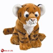customized OEM design stuffed plush tiger