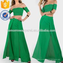 Гофрирование Растениеводство и соответствующие юбка Производство Оптовая продажа женской одежды (TA4122SS)