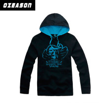 High Quality Customized Polyester Fleece Jacket Hoodies for Men and Women