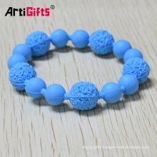 Customized cheap religious rosary bracelet