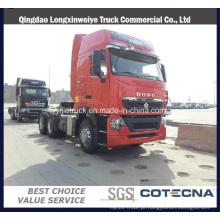 Caminhão do trator do preço competitivo HOWO T7h com 6 * 4