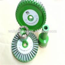 preço de fábrica rebolo diamante sinterizado montado ponto para pastilha de freio forro de freio
