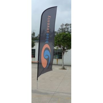 Custom Knife Feather Flag for Event Advertising