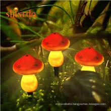 Cute Christmas Decoration Outdoor Waterproof  Mushroom Path Lights