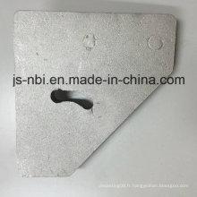 Pièces personnalisées en fonte de sable en aluminium