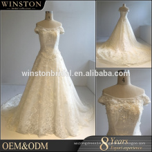 Fashion professional best wedding dresses manufactures real sample