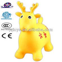 Надувные олени животных прыжки лошади игрушка