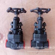 Шарнирный клапан API602 из кованой углеродистой стали или нержавеющей стали
