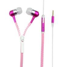 Écouteurs intra-auriculaires stéréo à glissière en métal OEM ODM