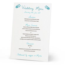 Wholesale laser coupe table de mariage carte de menu