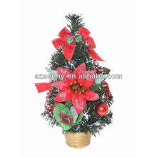 2016 mini mesa artificial soporte de árbol de Navidad