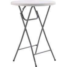 81cm Round Bar Table, Foldable High Top Cocktail Tables, Commercial High Top Bar Tables, High Plastic Bar Table