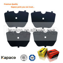 Aftermarket auto parts electrophoretic coating shims for BMW Brake pad (OE:34111165227)