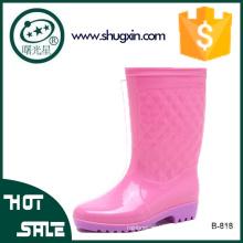 женщины плоские ботинки дождя женщин, ботинки дождя сапоги