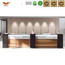 Popular Office Wooden Reception Desk Public Front Desk (HY-Q33)