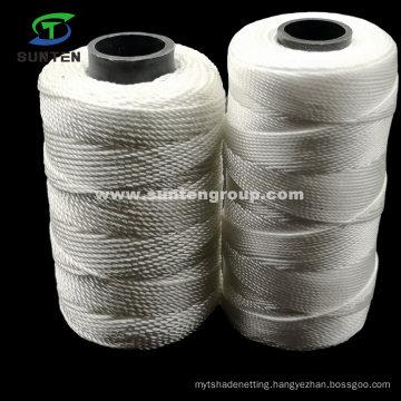 High Tenacity PE/PP/Polyester/Nylon Plastic Twisted/Braided Multi-Filament Rope/Baler/Fishing Twine/Packing Line Yarn (210D/380D) by Spool/Reel/Bobbin/Hank