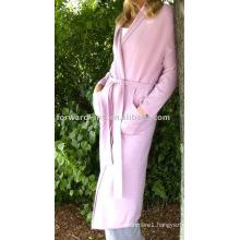 Ladies' 100% cashmere robe