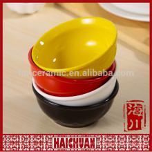 Ceramic color rectangle bakeware snack bowl bread holder salad bowl cake bakeware