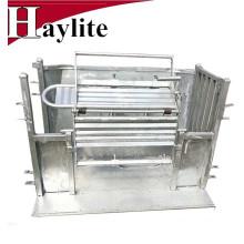 Receptor de cajas de regate de acero usado para manipular equipos