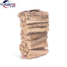 Gelb 50x72cm 40L Brennholz Netztasche