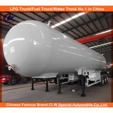 54, 000 Liters LPG Tanker Trailer, LPG Gas Tanker, LPG Trailer 25mt for Sale