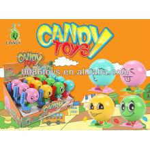 2013 Hot wind up juguetes dulces de huevo