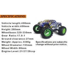 Regalo 1 / 8th Escala RC Car Nitro Monster Truck 94083
