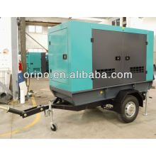25kva trailer diesel generator for indonesia with famous brand engine and alternator